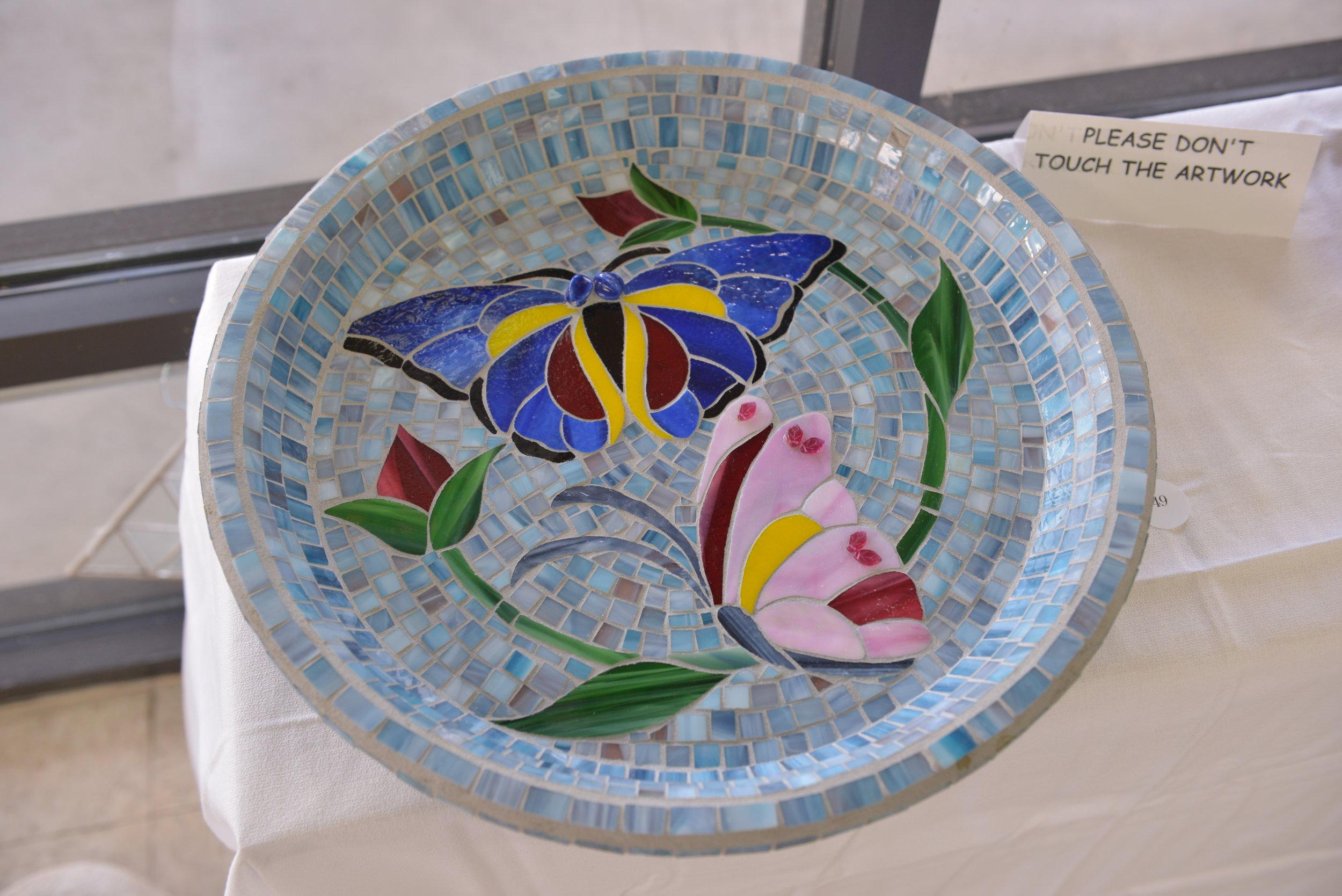 """""""Butterfly Birdbath"""" by Andrea Turner"""