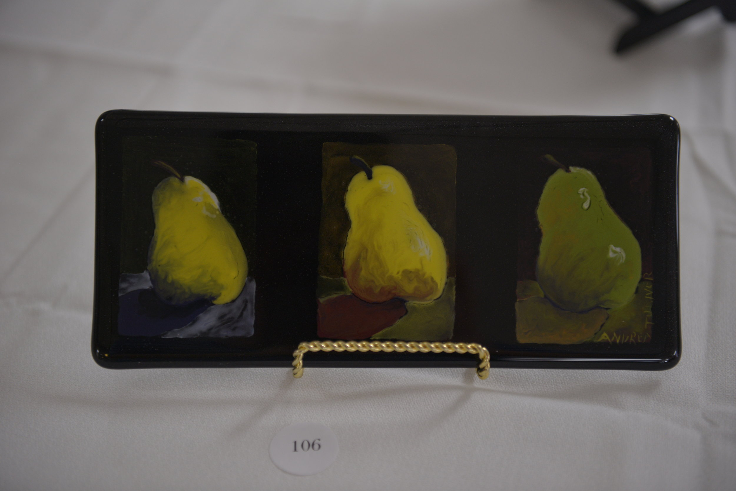 """A Trio of Pears"" by Andrea Turner"