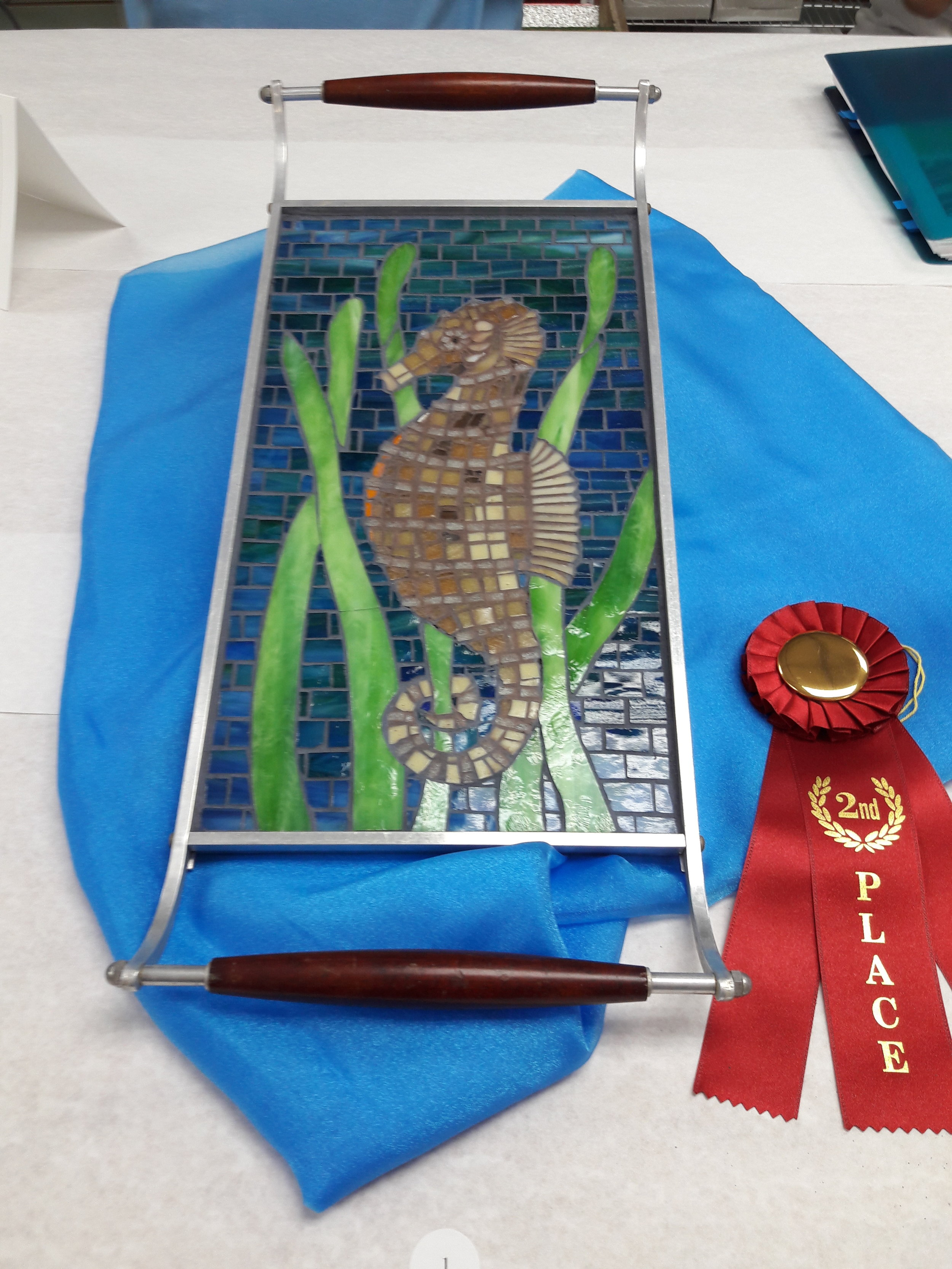 Juried Show - 2nd Place Cold Glass
