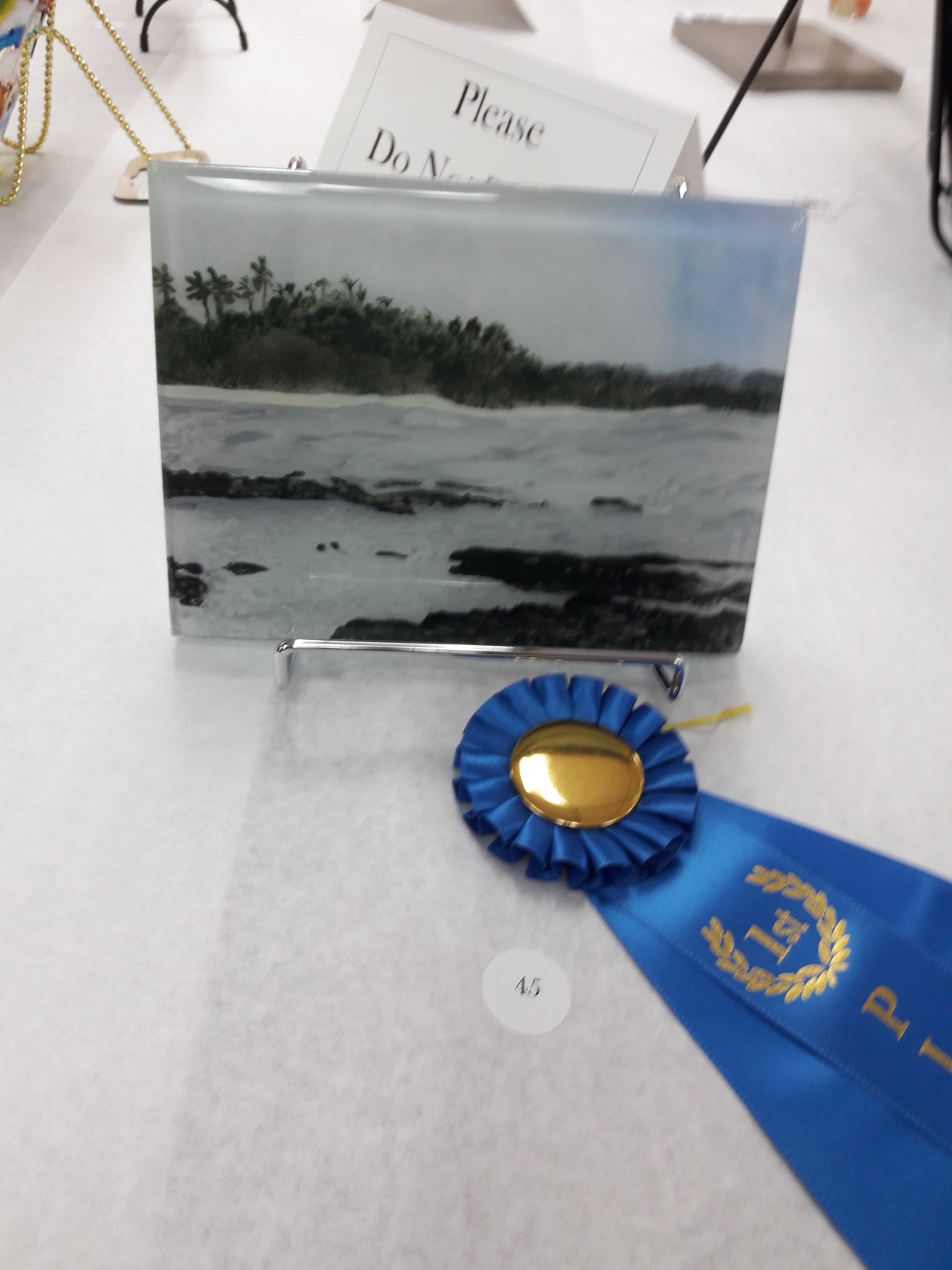 Exhibition - 1st Place Warm Glass