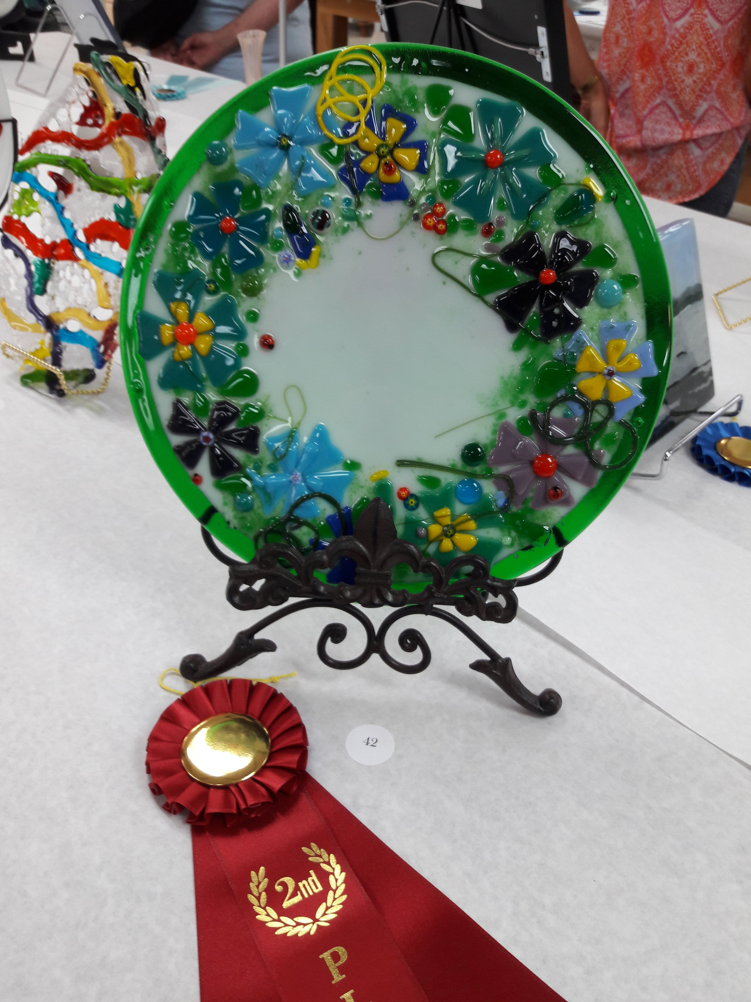 Exhibition - 2nd Place Warm Glass