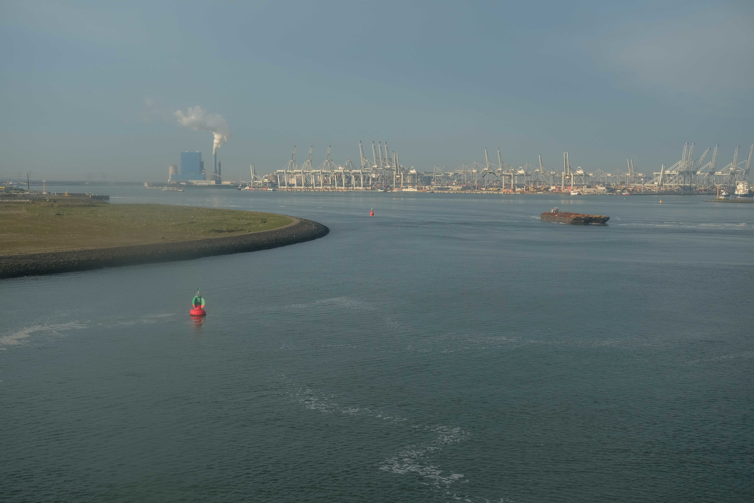 Arriving in Rotterdam