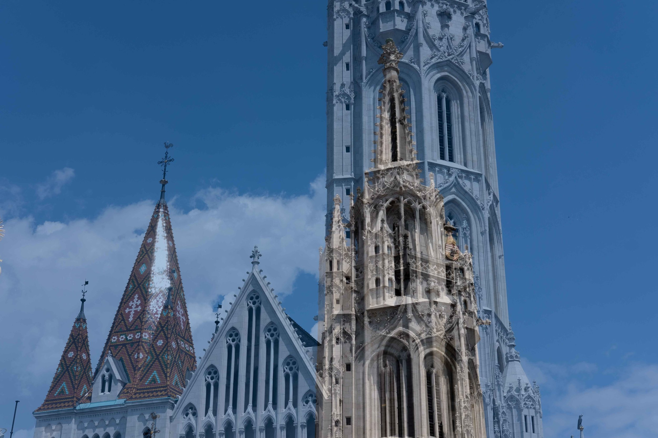 Grand ecclesial architecture.