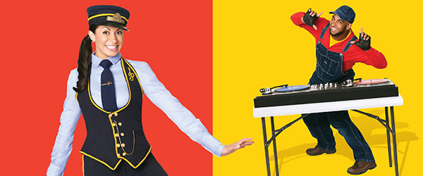 """Disney's Choo-Choo Soul """"With Genevieve!"""" Live at Tarrytown Music Hall: Sun. 2/19/17 @ 1pm & 4pm"""