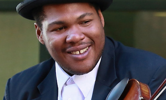 """Jerron """"Blind Boy"""" Paxton at Clearwater Festival, June 2017"""