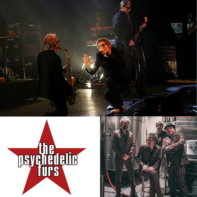 The Psychedelic Furs - The Singles Tour with special guest Bash & Pop | Oct 6th | 8 PM | Tarrytown Music Hall