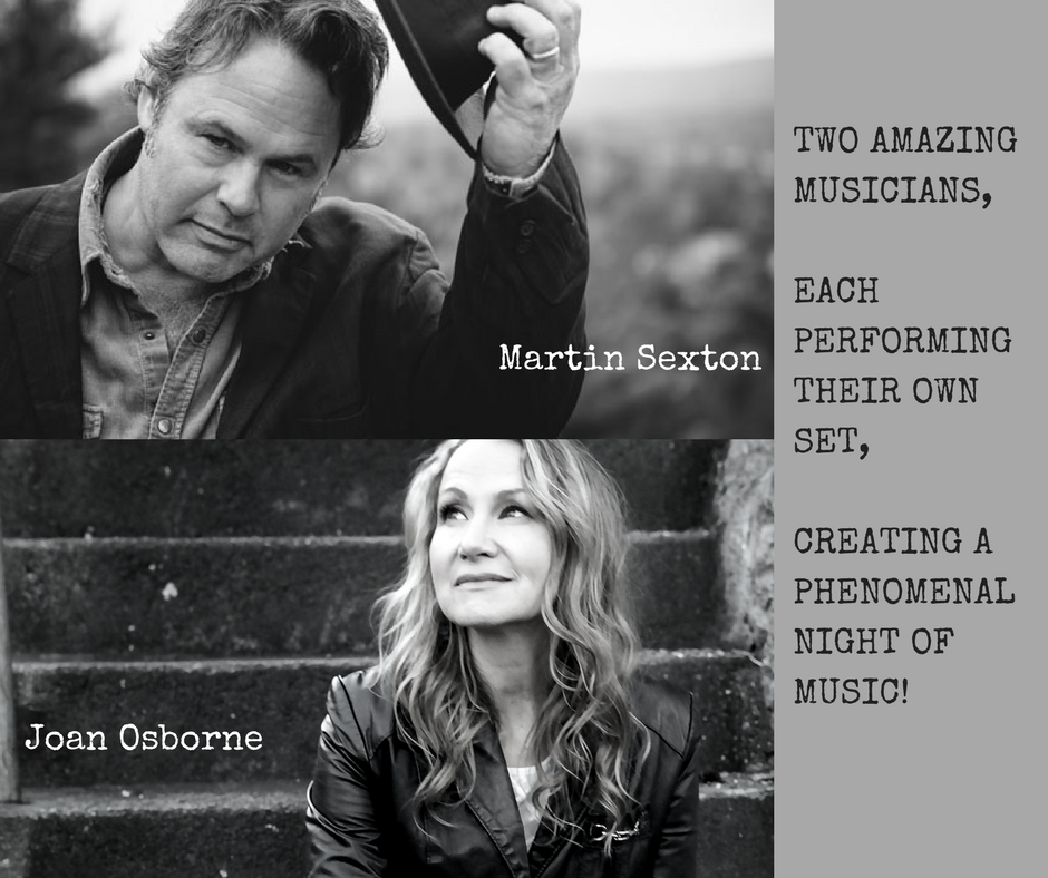 Martin Sexton & Joan Osborne • Troy Music Hall • 4.14 • www.MusicWithoutBorders.com