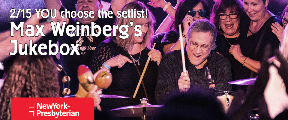 Max Weinberg's Jukebox MWB Music Without Borders
