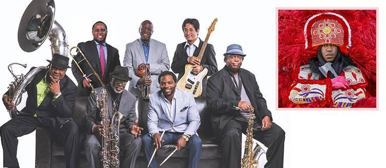 Cha Wa Dirty Dozen Brass Band Landmark on Main Street MWB Music Without Borders concert venue booking