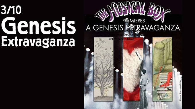 """The Musical Box - """"A Genesis Extravaganza"""" MWB Music Without Borders"""