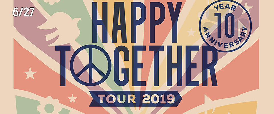 Happy Together Tour 2019 Music Without Borders