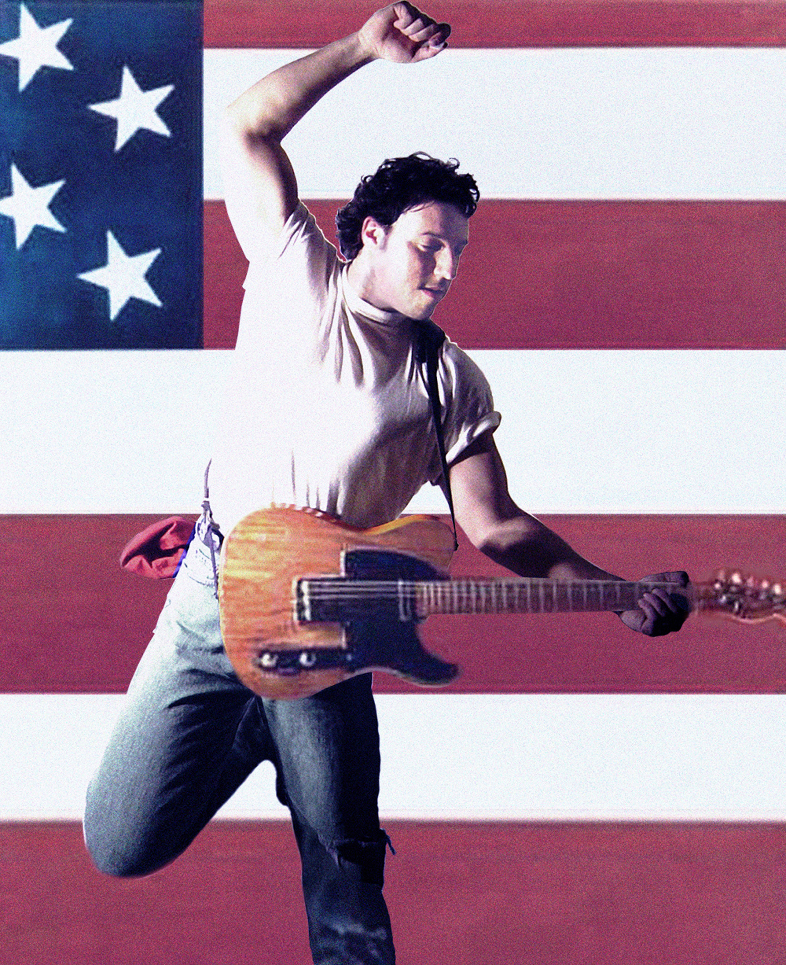 Bruce in The USA Music Without Borders