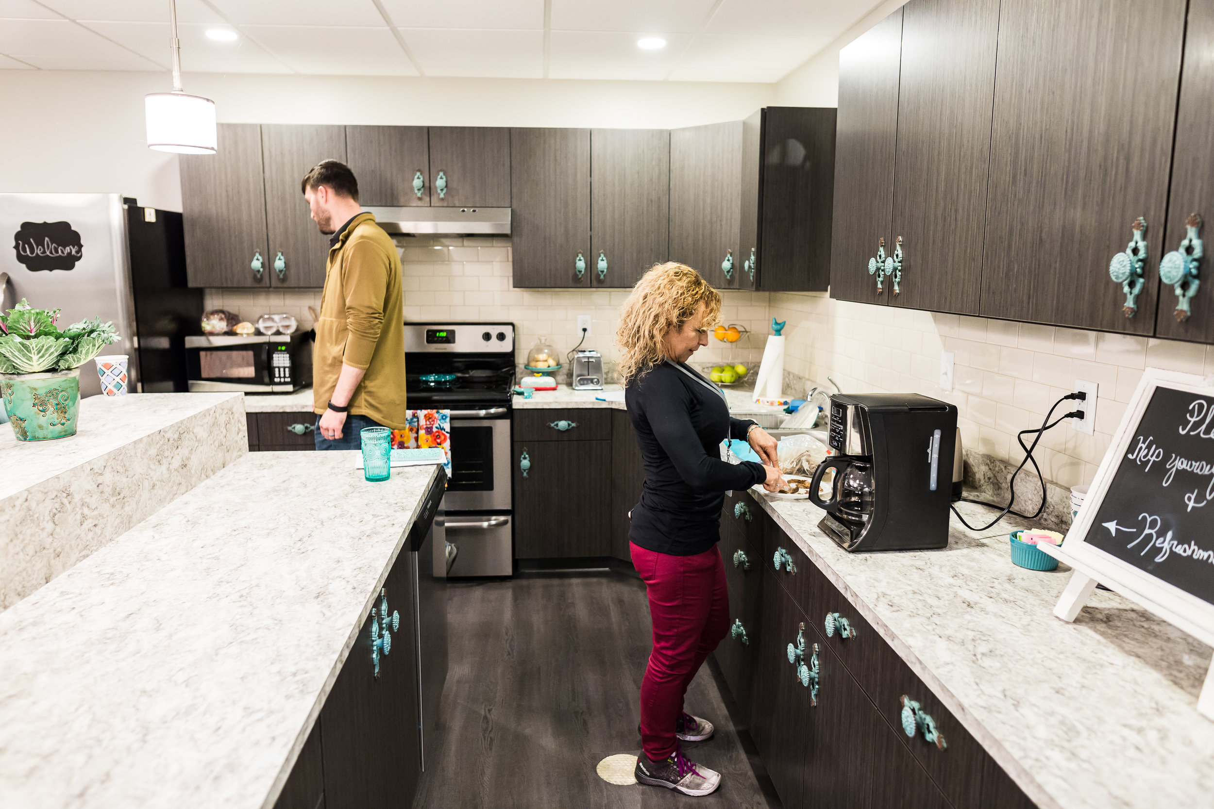 Bloomington IL Birth Center Kitchen