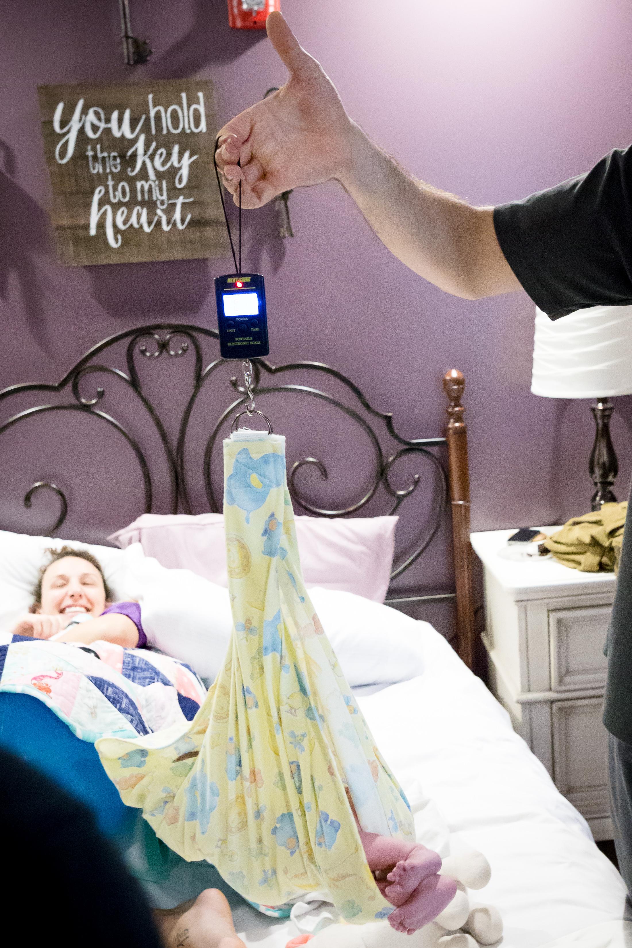 Newborn Weight at Birth Center Bloomington, IL