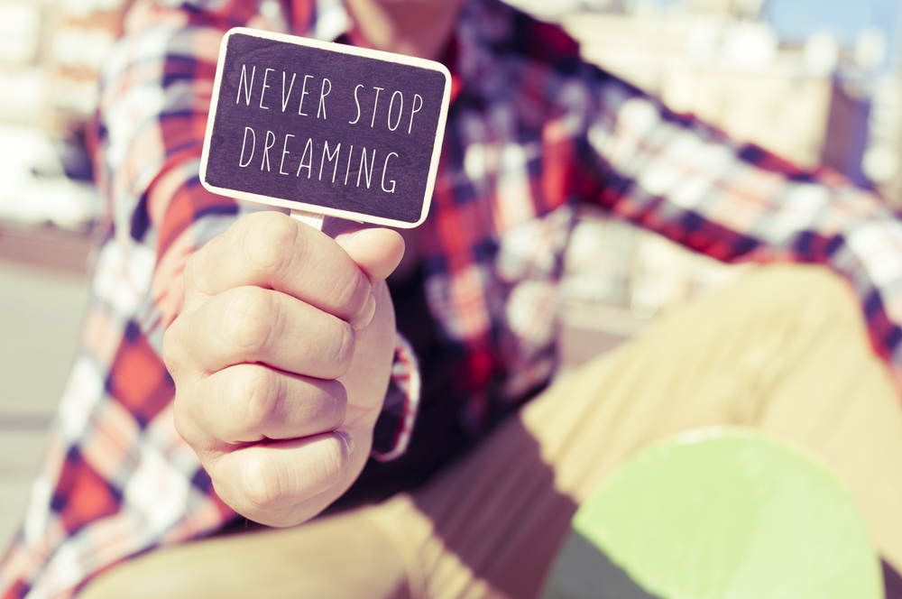 Millennials never stop dreaming... sometimes even when there are deadlines.