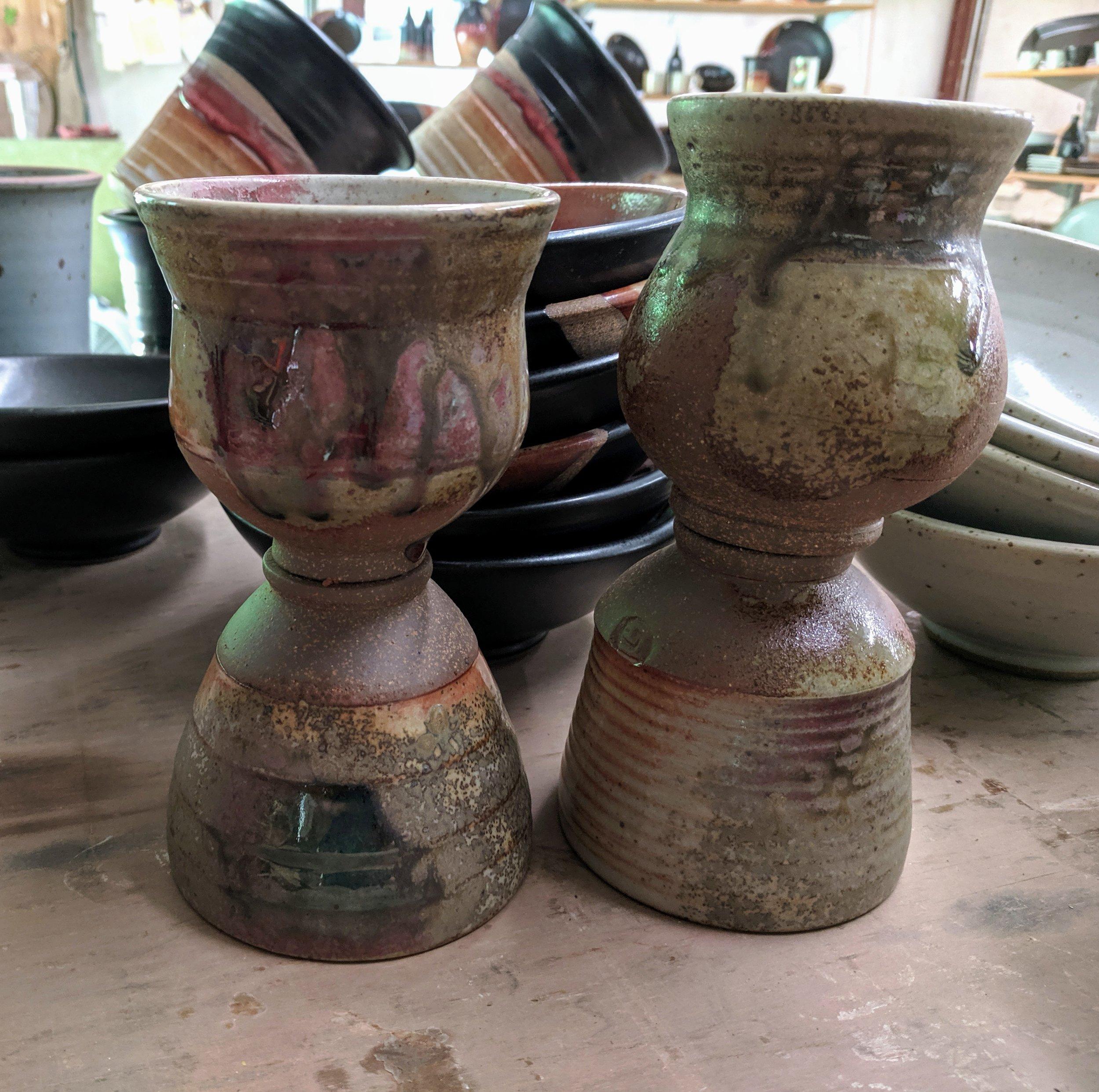Teabowls, yunomi, wine cups, etc.