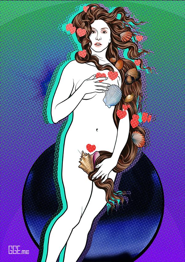 GGE.me - LADY VENUS in GREEN