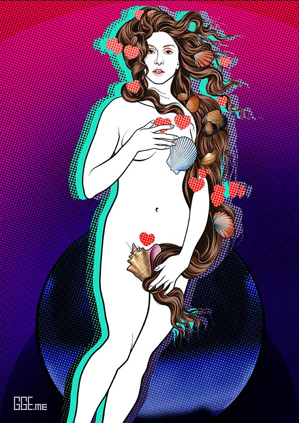 GGE.me - LADY VENUS in PURPLE