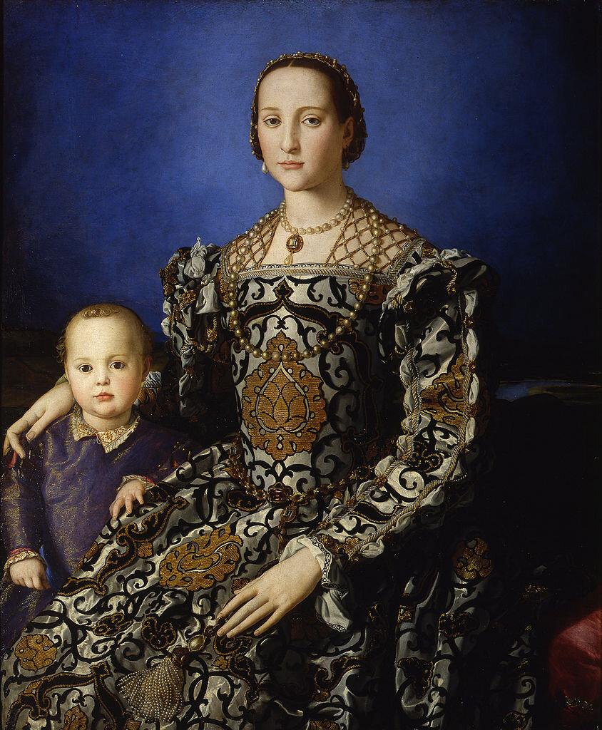 844px-Bronzino_-_Eleonora_di_Toledo_col_figlio_Giovanni_-_Google_Art_Project.jpg