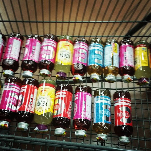 Is there such a thing as too much kumbucha? Of course not, especially when it is on crazy sale!