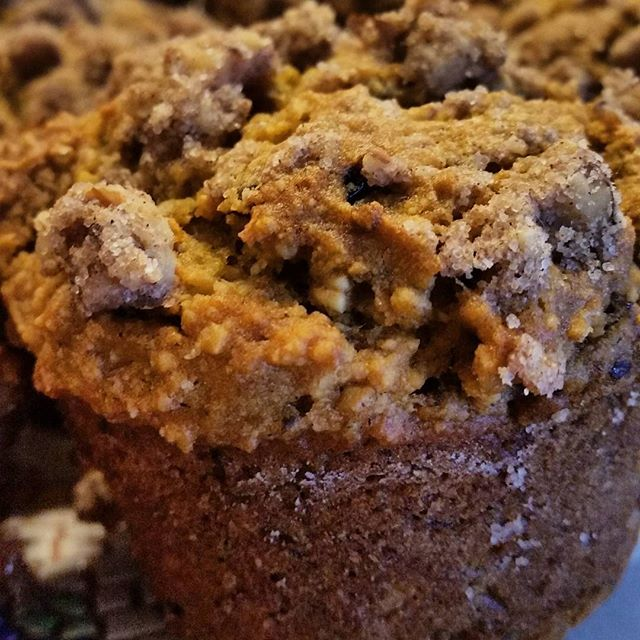 Pumpkin muffins from the #minimalistbaker ! So delicious. I tend to be a failure at baking, but these made me feel like a baking god:) super easy and delicious