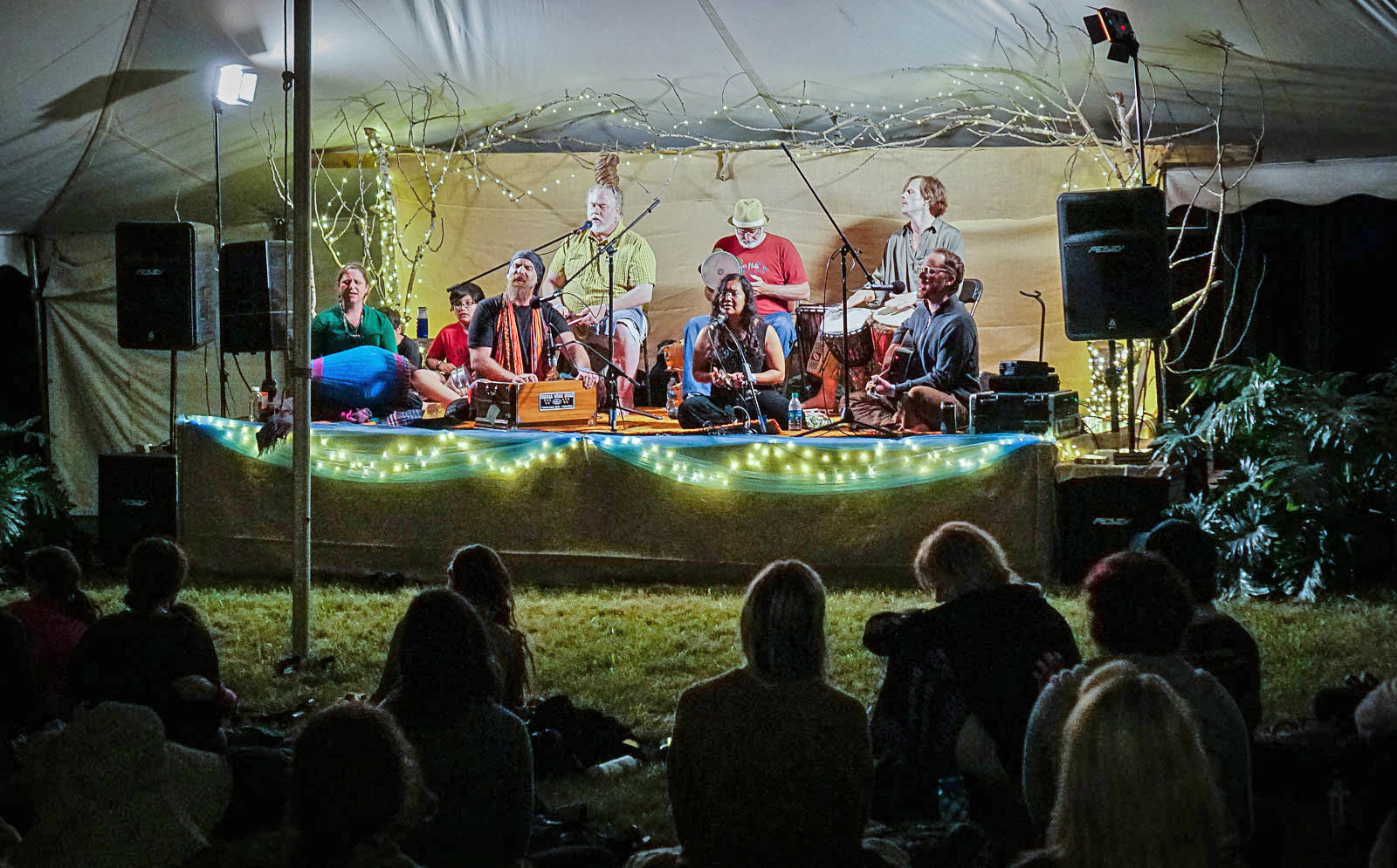 A spirited and soulful evening of Community Kirtan headlines the YogaFest Main Stage during opening night of YogaFest 2017.