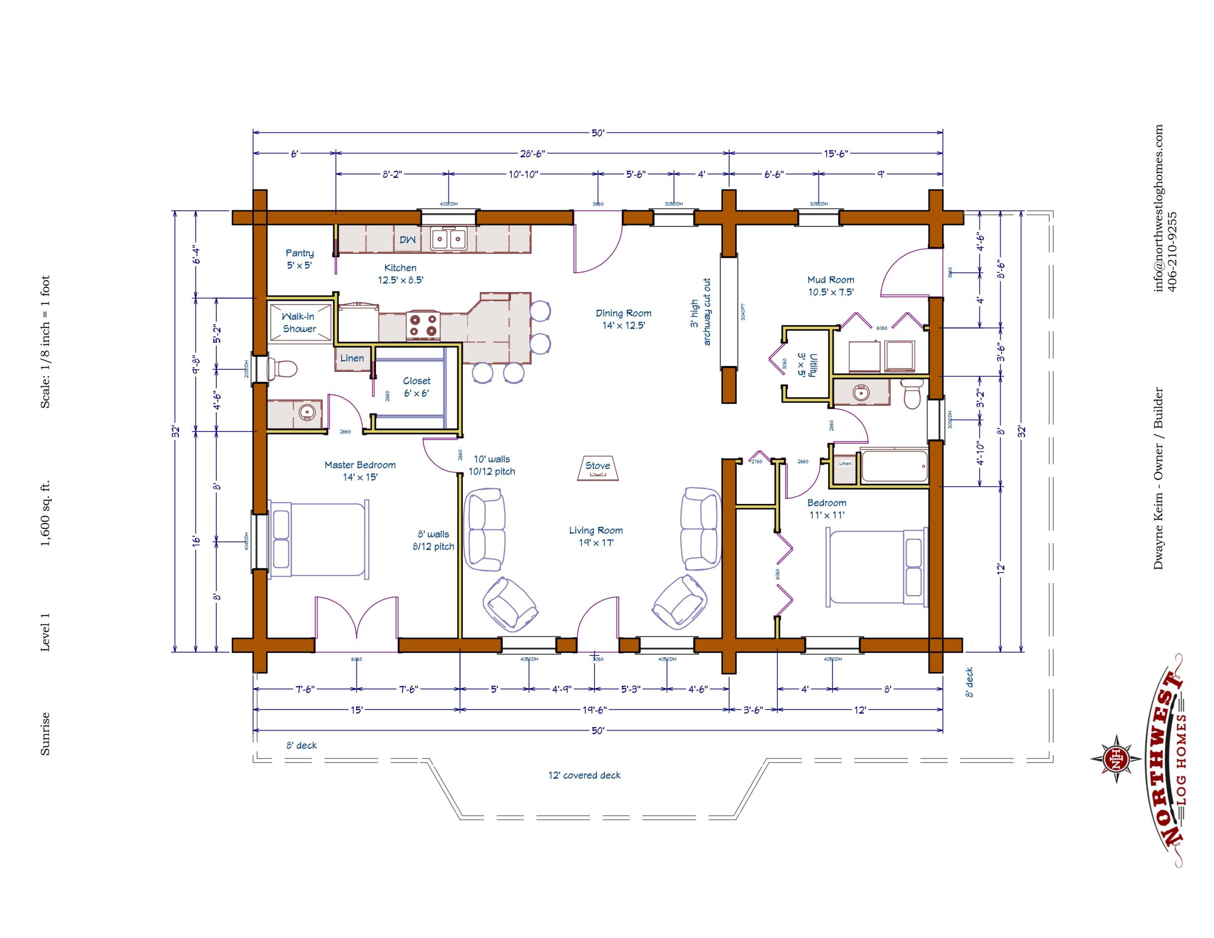 Main Floor - 1,600 sq. ft.