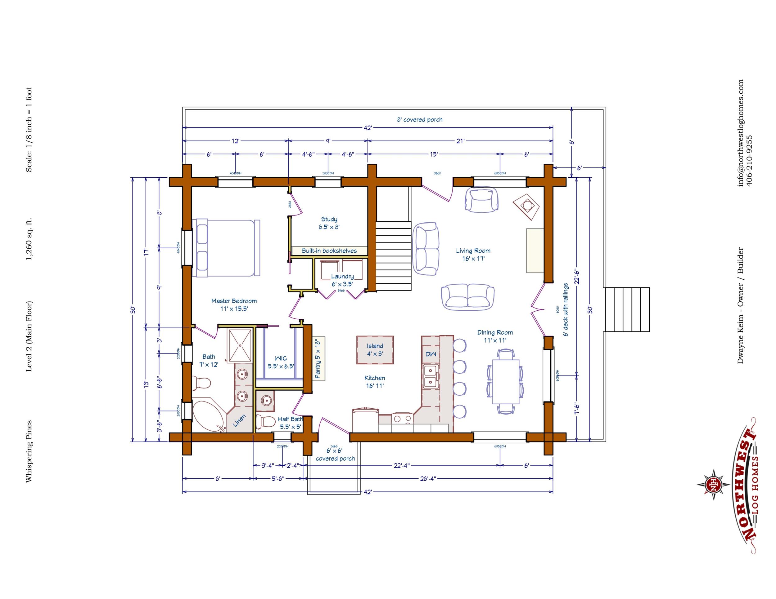 Main Floor - 1,260 sq. ft.