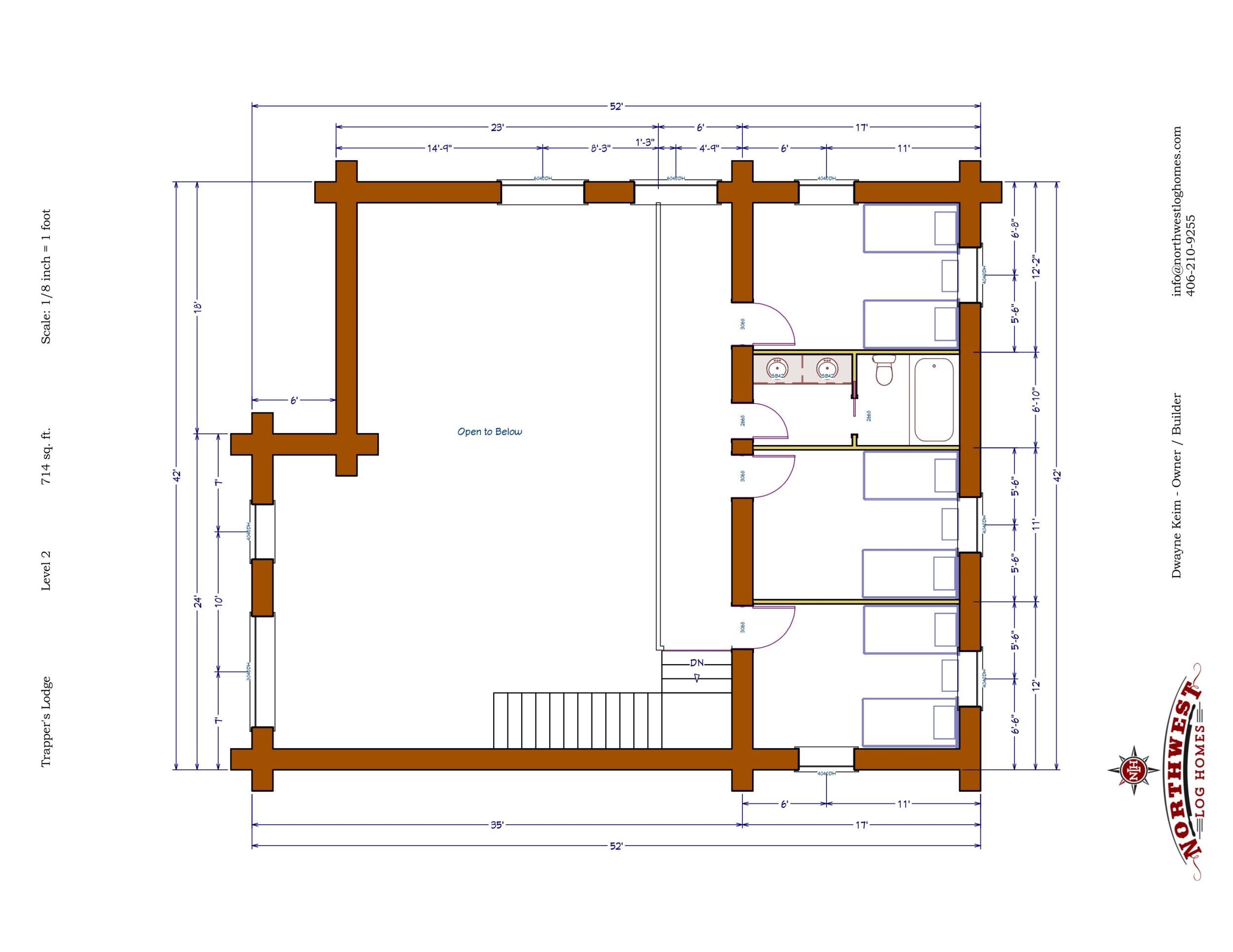 Loft - 714 sq. ft.