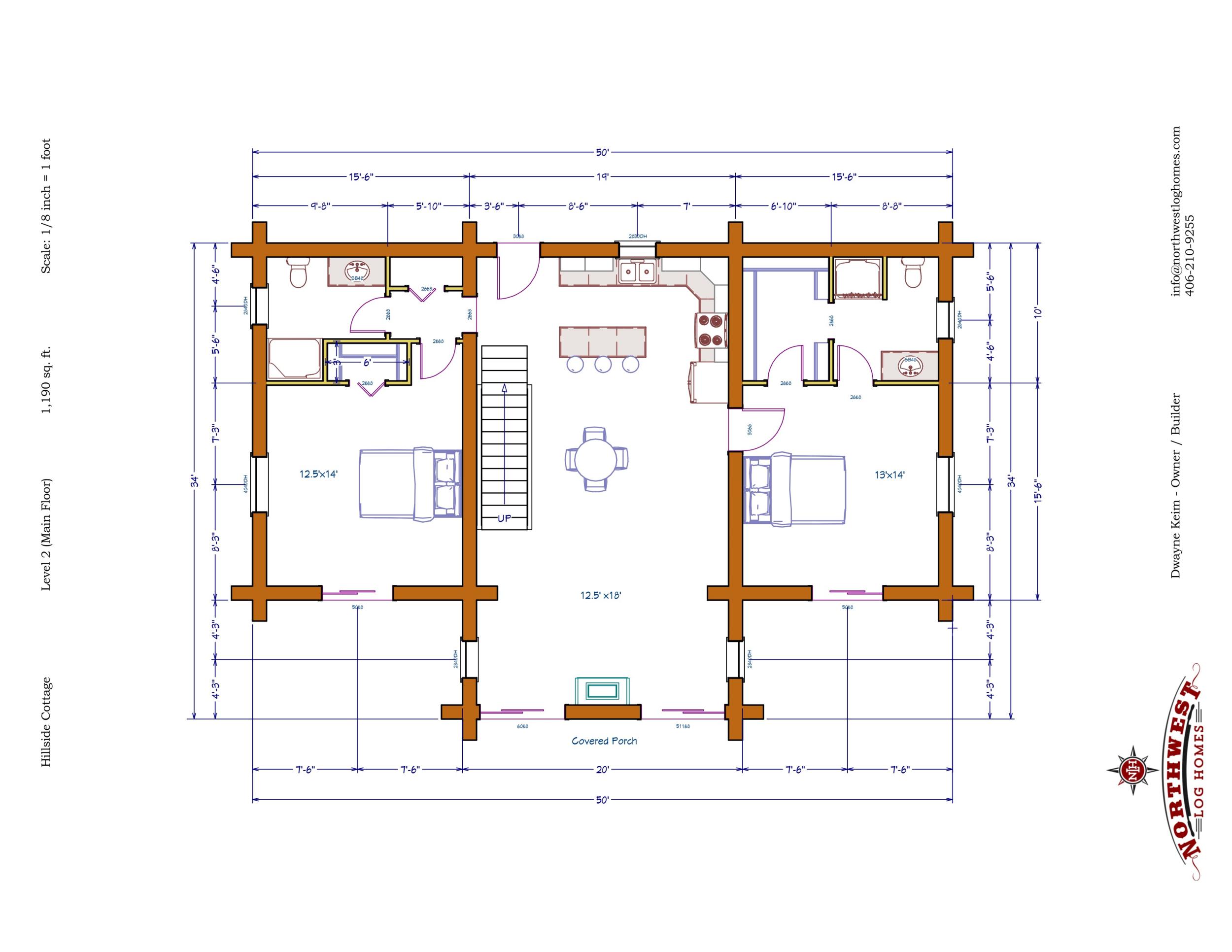 Main Floor - 1,190 sq. ft.