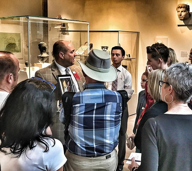 Integrity tour group checking out Roman coins from the time of Tiberius Caesar - remember what happened during the 15th year of his reign? #oasisgrouptours #oasisbiblicaltours #oasistrips #bibletours #theocratichistorytours #jwbibletours #jwtours#themet #oasisatthemet #metbibletours #metmuseumbibletours #integrity