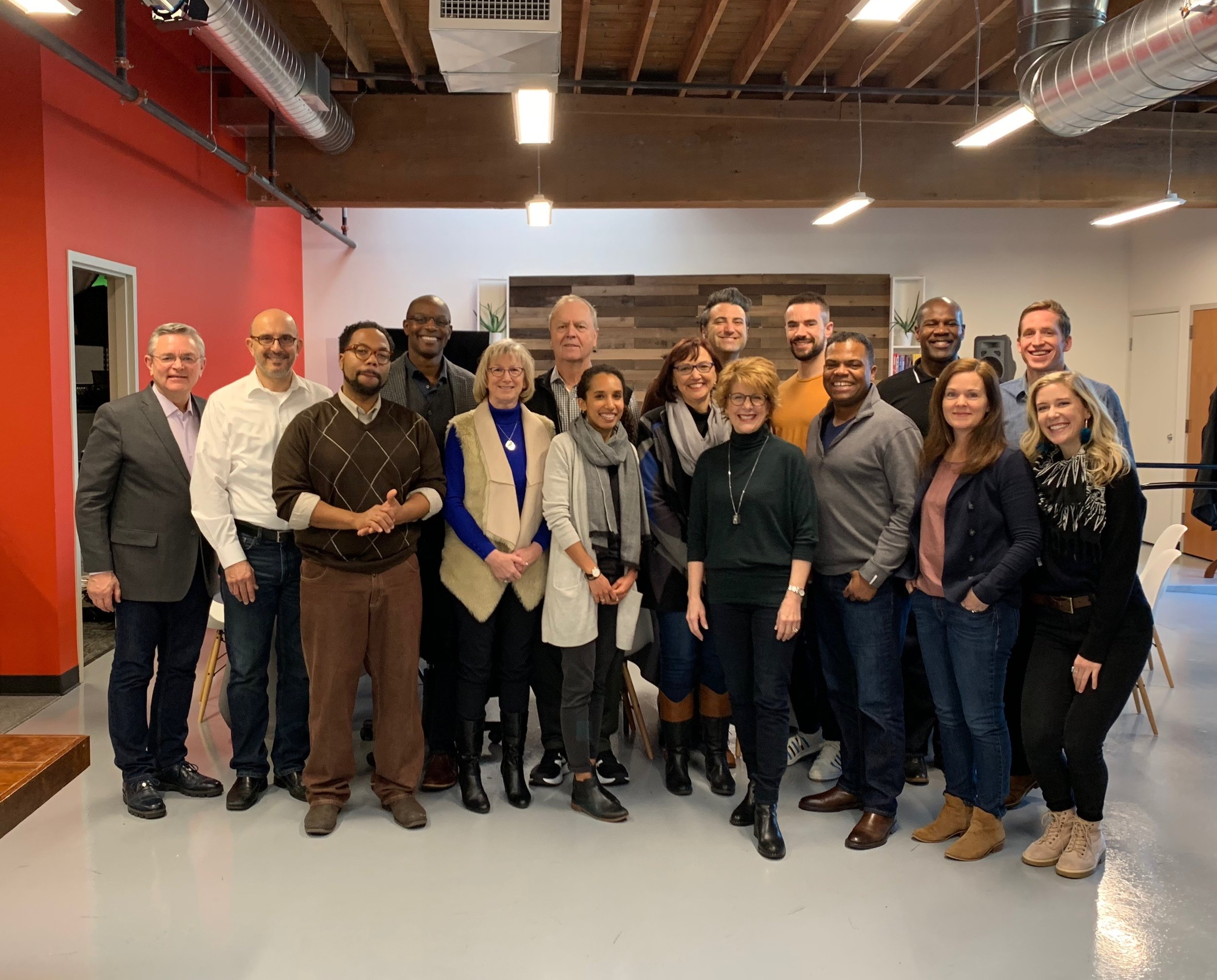 Group photo from the Align Retreat, January 2019.