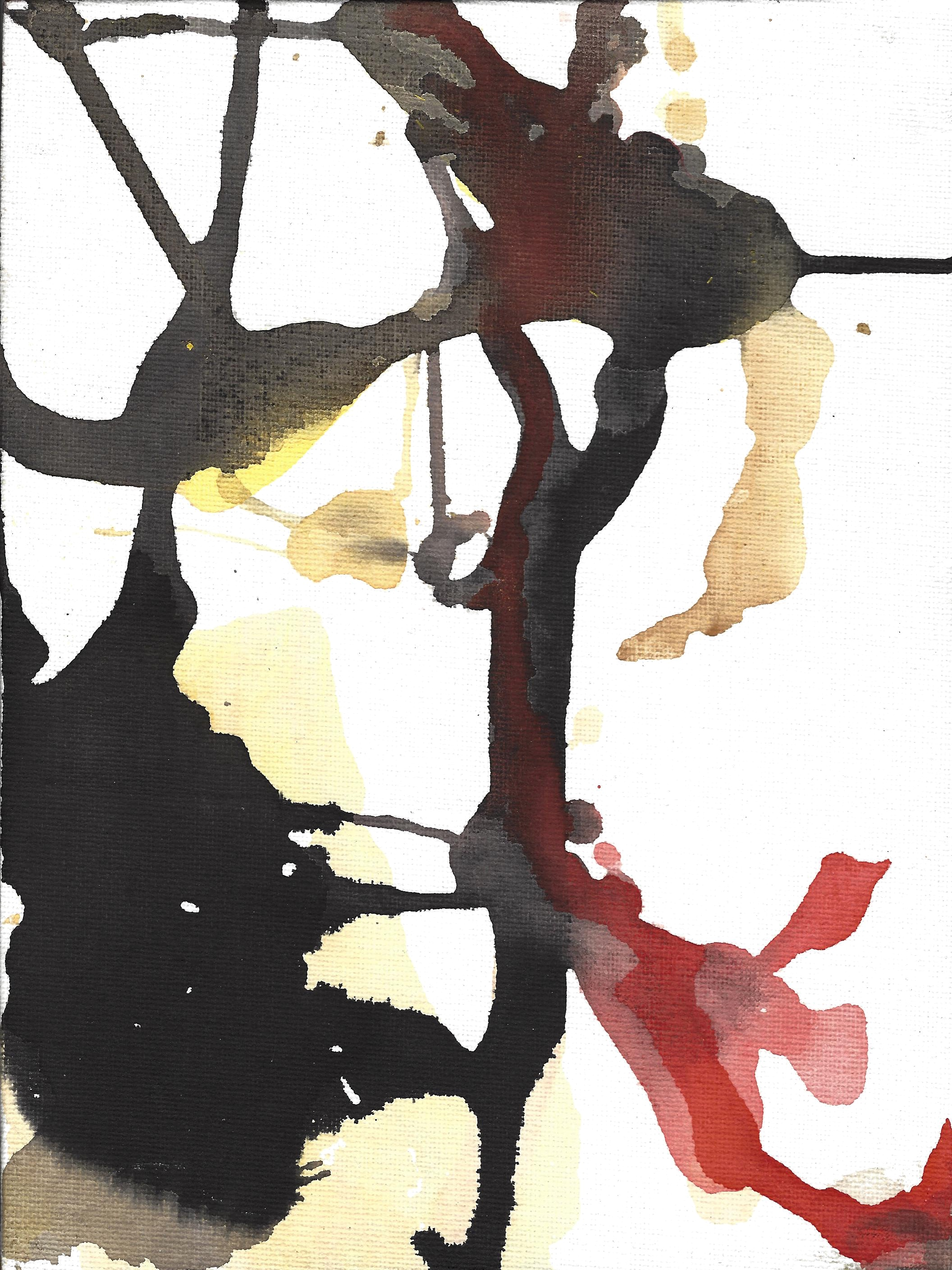 Watercolour #9 Untitled 2015