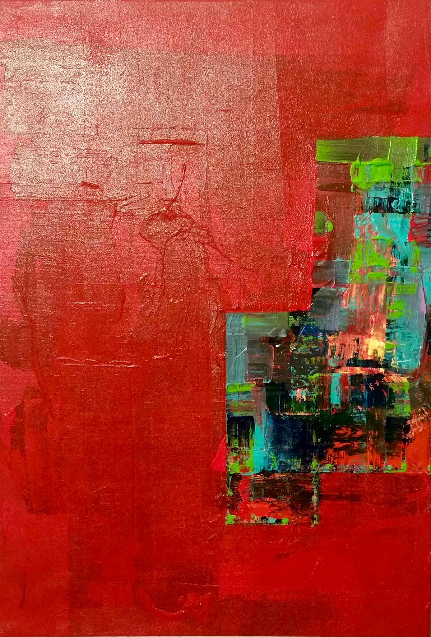 Surrounding Red #3 2016