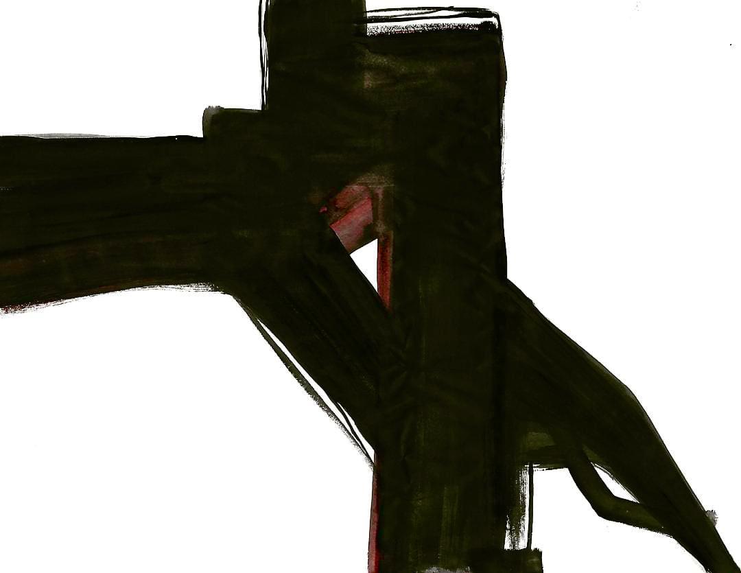 D'APRES FRANZ KLINE UNTITLED 01 2017