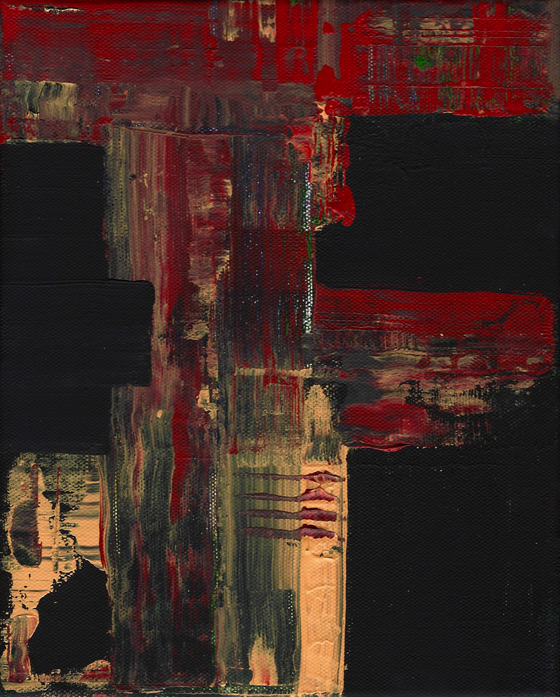 Red, Yellow, Black Untitled 2015