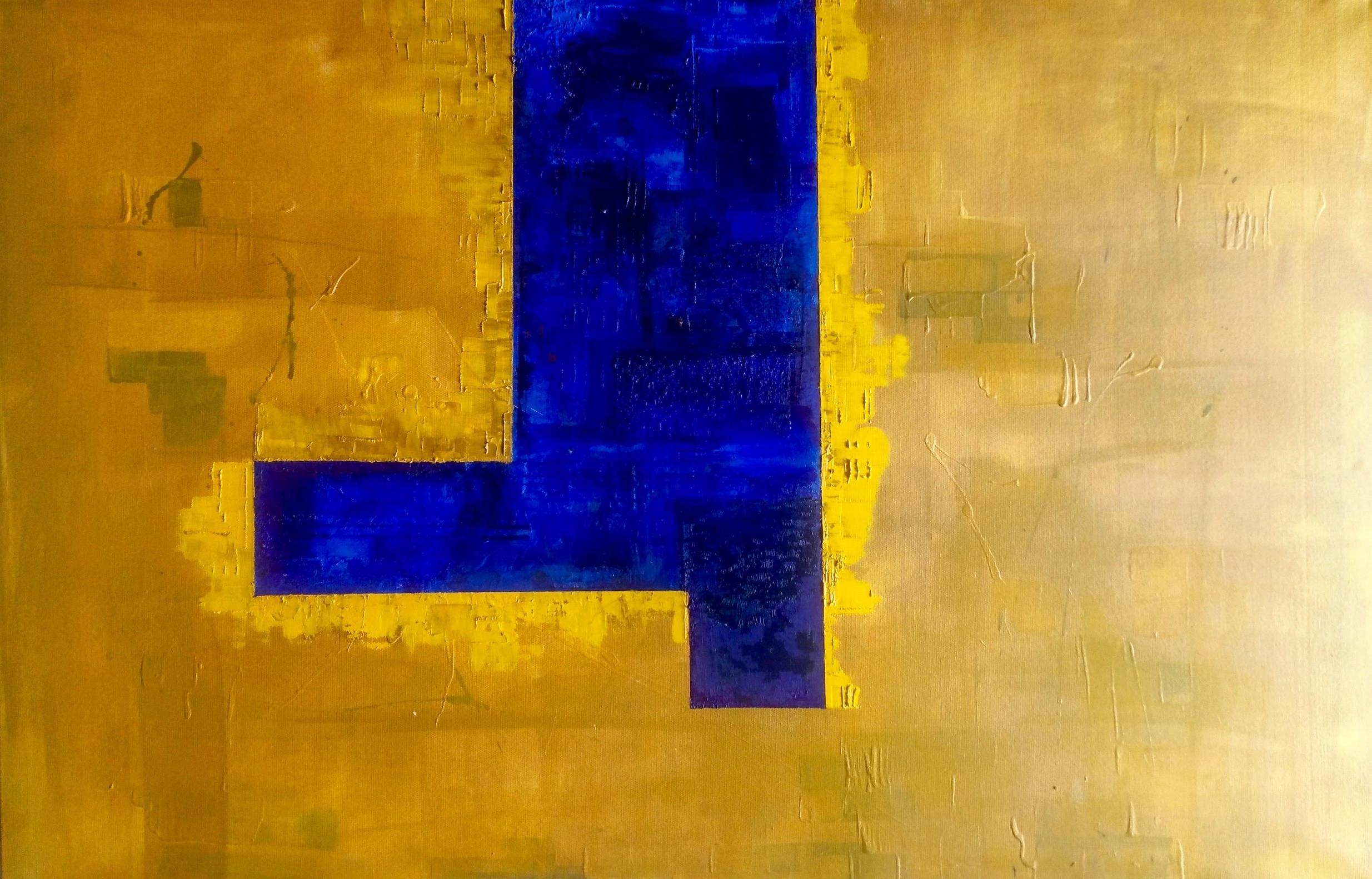 Lemon & Blue Untitled 2017