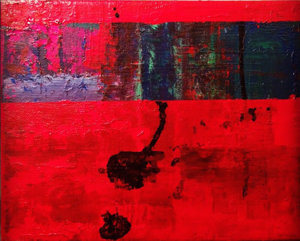 Colour Strip on Red 2015