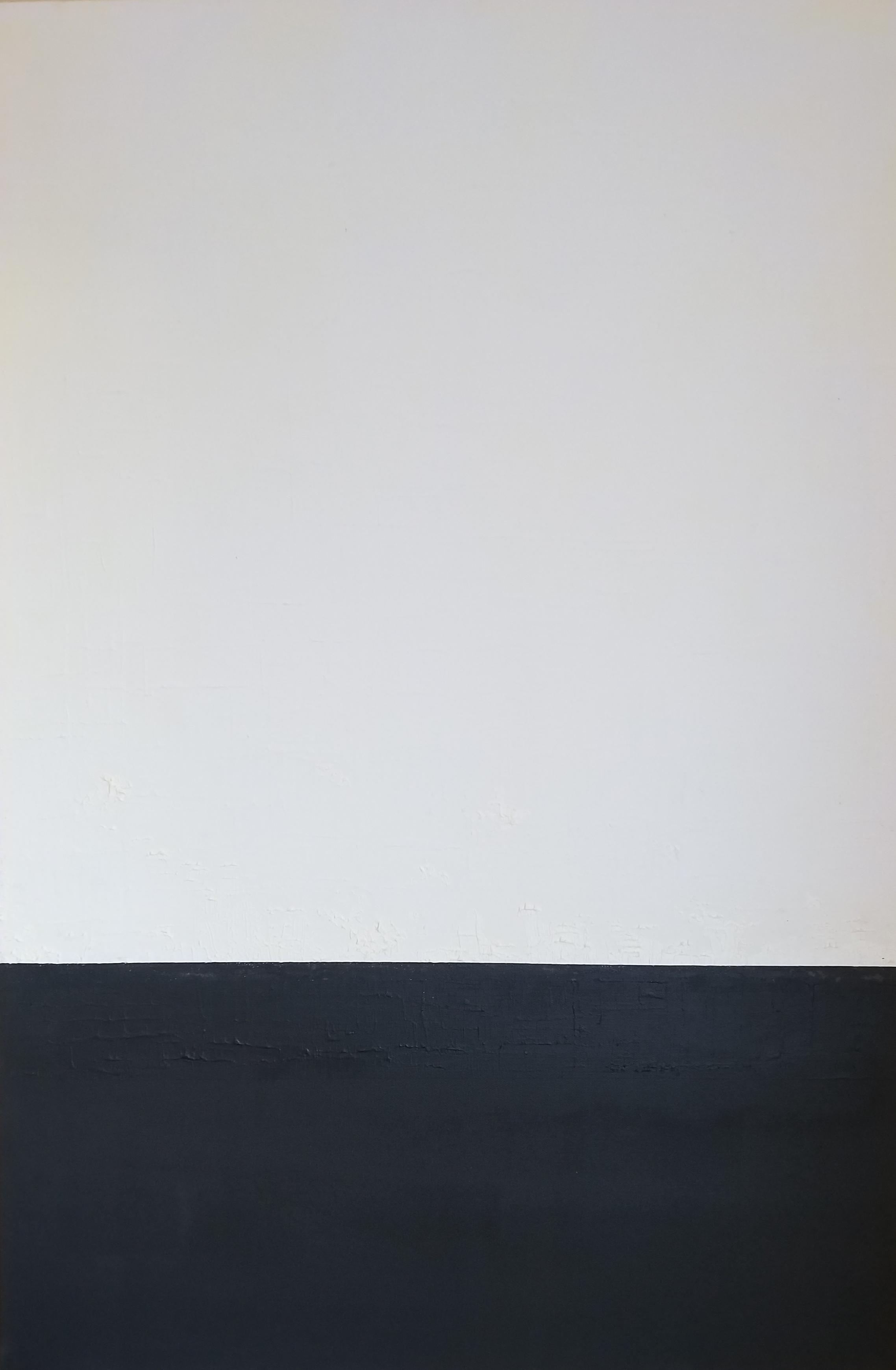 White on Black Untitled, 2018