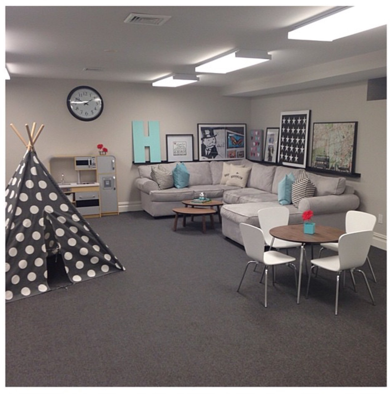 "Ask yourself this: ""does my basement have a teepee in it?"""
