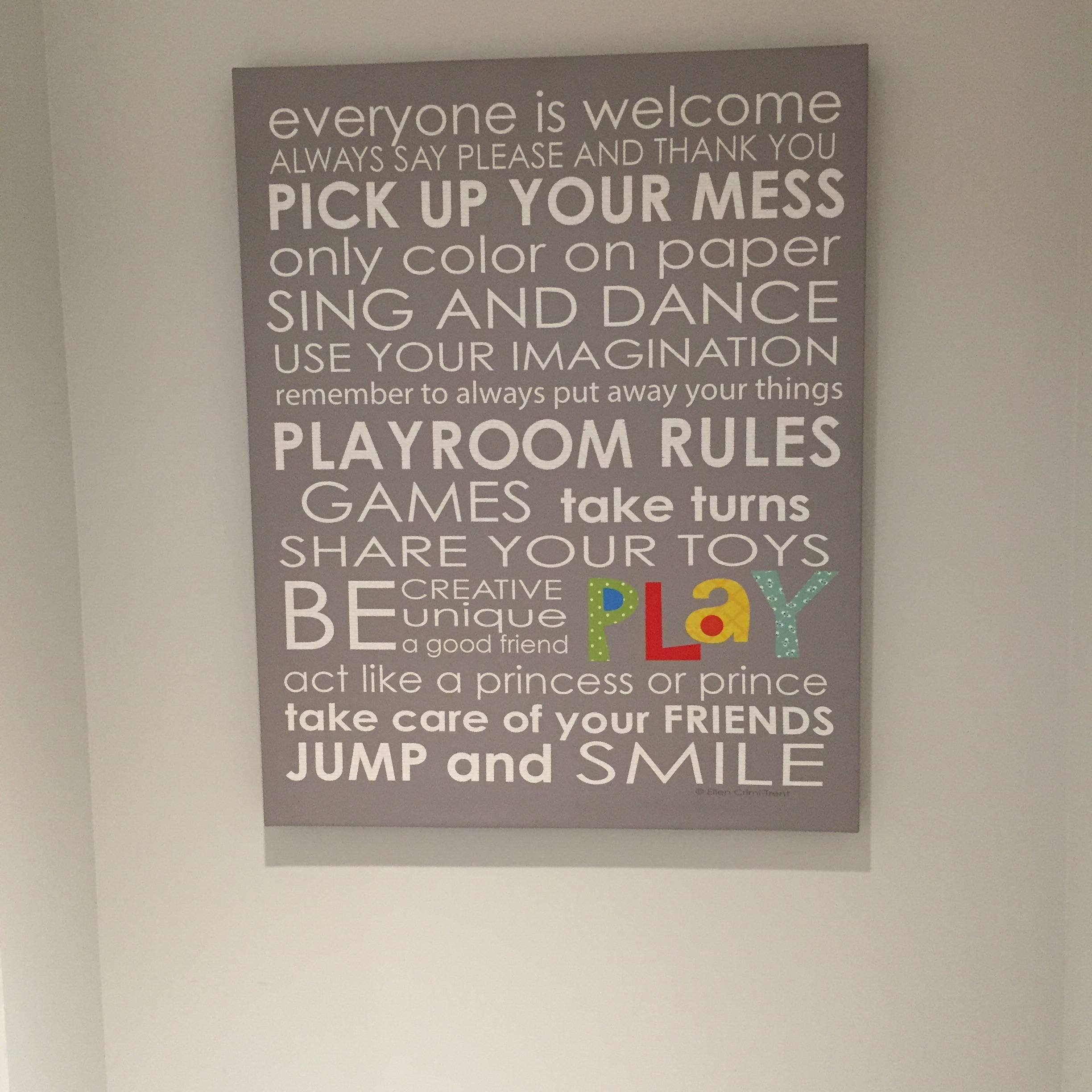 Always remember to play by the rules...