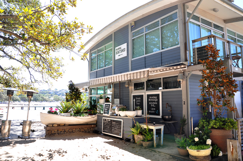 Boathouse exterior