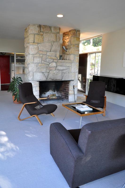 Open plan interior