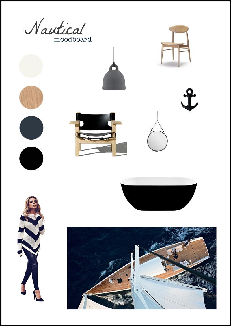 Nautical moodboard