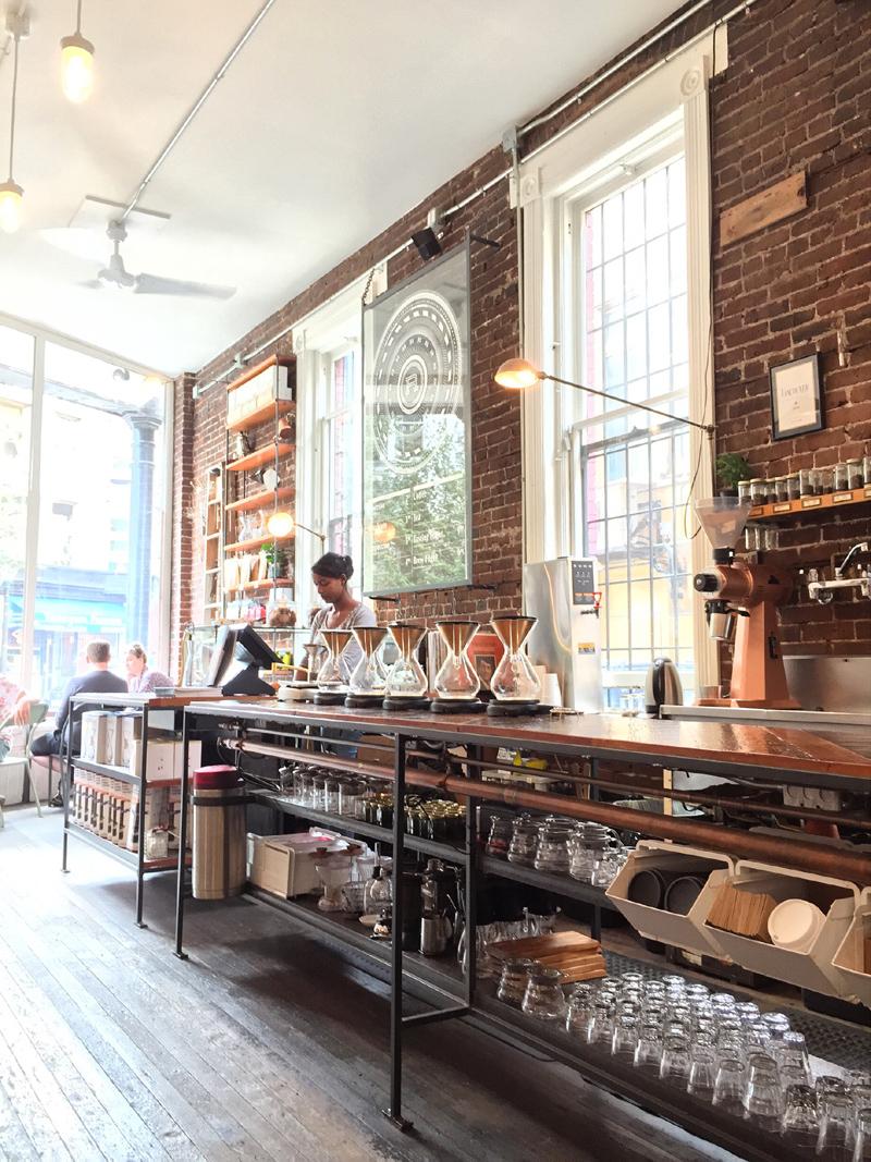 Revolver Coffee, Cambie Street, Gastown
