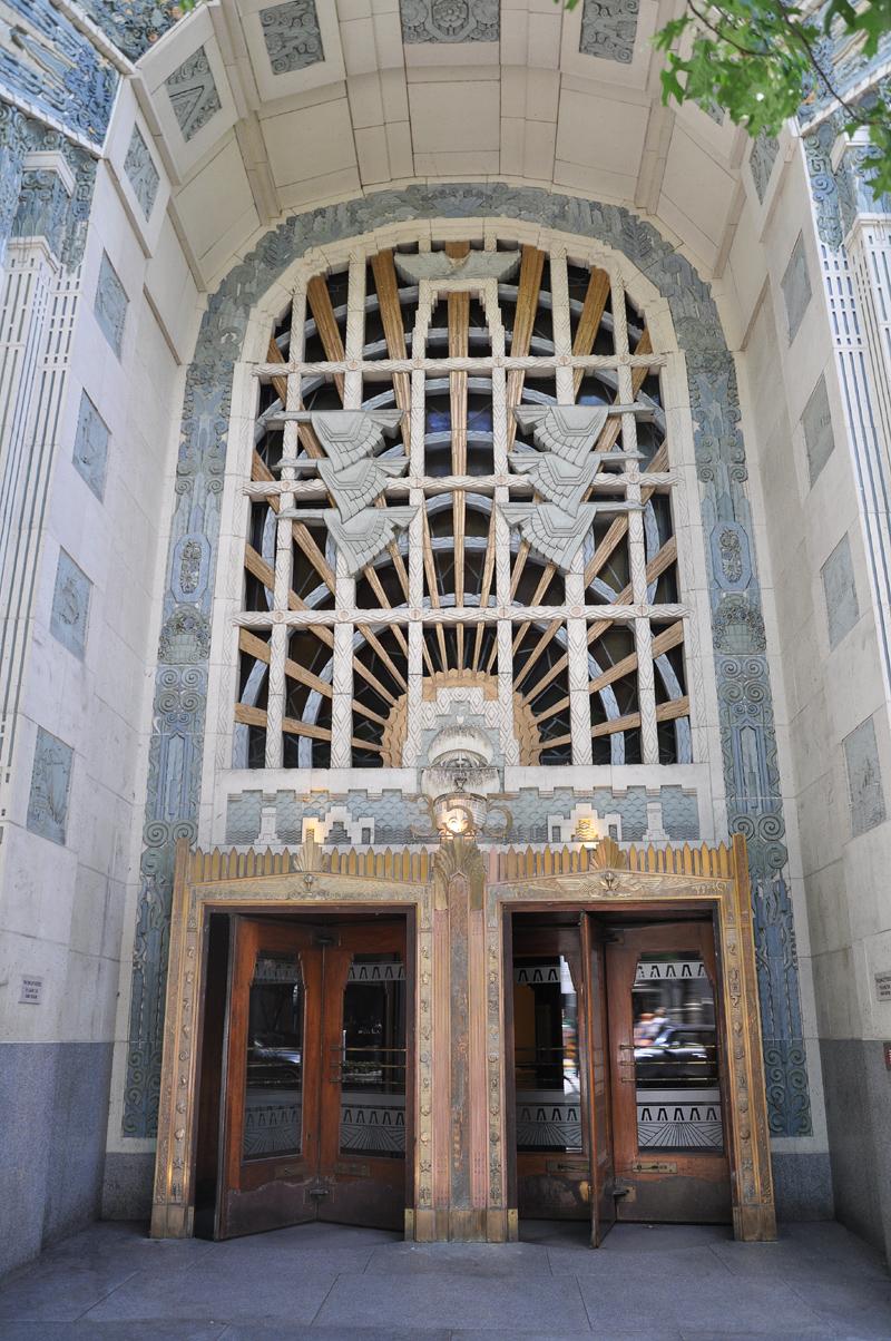 Art Deco architecture, Marine Building, Burrard Street