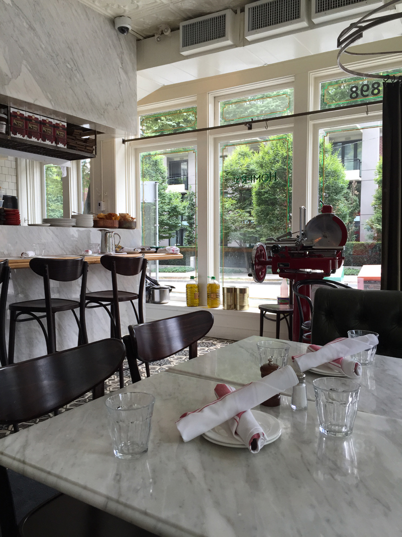 Homer Street Cafe, Yaletown