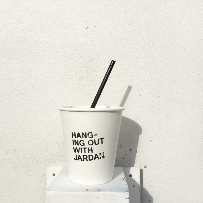 Beverage break at Jardan