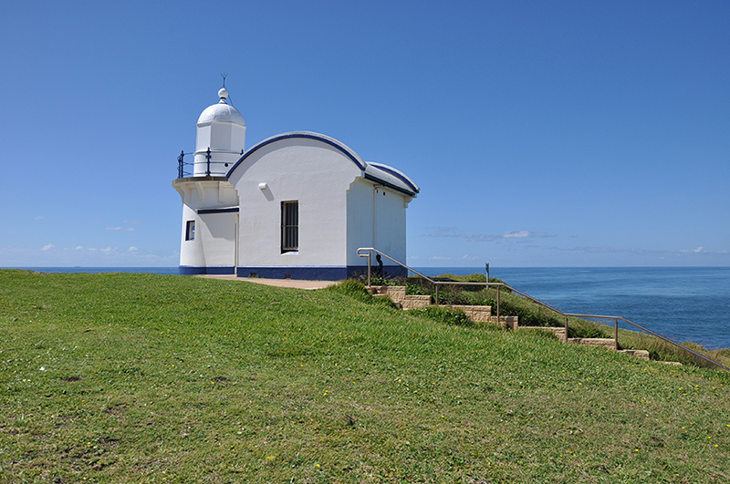 Tacking Point Lighthouse, Port Macquarie - Designed by Government Architect, James Barnet, 1879