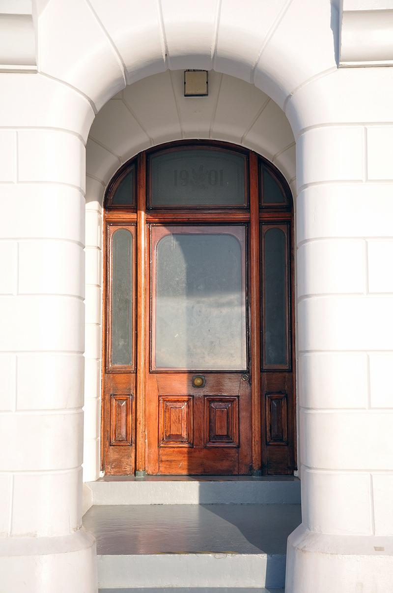 Lighthouse front door